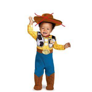 NEW Disney Toy Story Boy's Woody Halloween Costume
